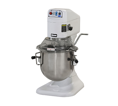 superior-equipment-supply - Globe Food Equipment - Globe Stainless Steel Bowl Electric Bench Model 8 Quart Planetary Mixer
