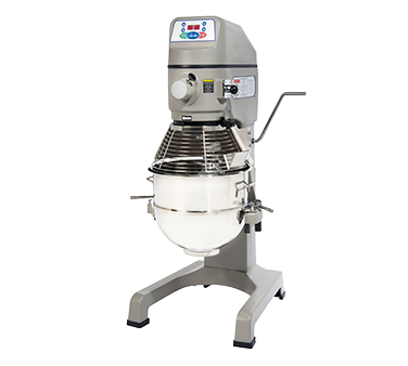 superior-equipment-supply - Globe Food Equipment - Globe Stainless Steel Bowl Electric Floor Model 30 Quart Planetary Mixer