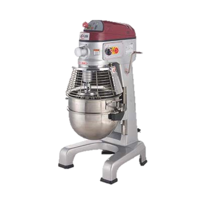 MVP Group Stainless Steel Electric Floor Model 30 Quart Axis Planetary Mixer