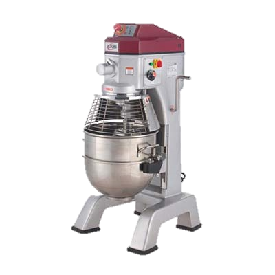 MVP Group Stainless Steel Electric Floor Model 40 Quart Axis Planetary Mixer
