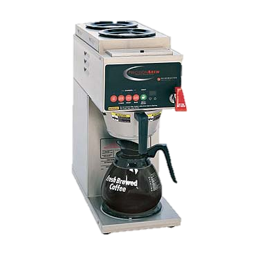 superior-equipment-supply - Grindmaster Cecilware - Grindmaster Cecilware Percision Brew Electric Single Automatic Coffee Brewer With Two Top & One Bottom Warmer