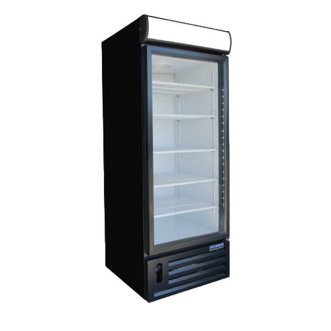 Ojeda Refridgerated Merchandiser 23.4 ft. Capacity Powder Coated Steel Exterior