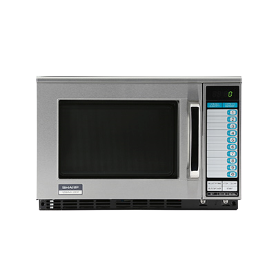 Sharp Microwave Oven 0.7 cu. ft. 1200 Watts 11 Power Levels Programmable Timer Stainless Steel
