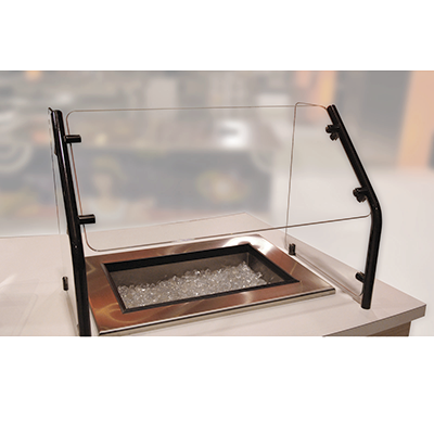"Advance Tabco Self-Serve Style 60"" Long Food Shield"