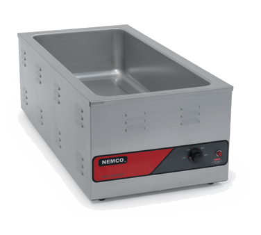 "superior-equipment-supply - Nemco Inc - Nemco Stainless Steel Electric 14.63"" Wide Countertop Food Pan Warmer"
