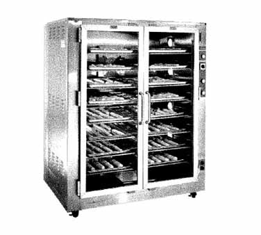 superior-equipment-supply - Piper Products - Piper Stainless Steel Two Section Proofer/Warmer Cabinet
