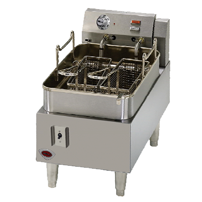 Wells Stainless Steel Electric 15 lb. Capacity Countertop Fryer