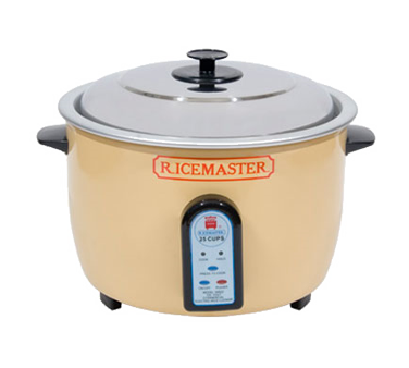 Town Rice Master Rice Cooker/Warmer 25 Cup Uncooked Rice Capacity