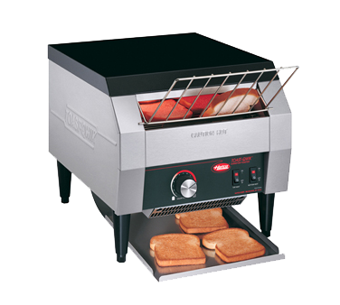 superior-equipment-supply - Hatco Corporation - Hatco Toast-Qwik Horizontal Conveyor Countertop Toaster 120V 300 Slices/Hour