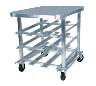 Winholt Low Profile Aluminum Frame-Stainless Steel Top Rack-Can Storage