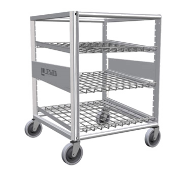 Lockwood Aluminum Frame Half Height Can Storage Rack