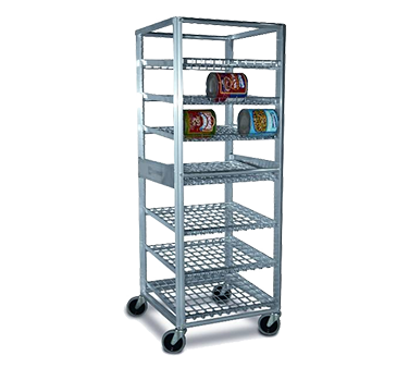 Lockwood Aluminum Frame Full Height Can Storage Rack