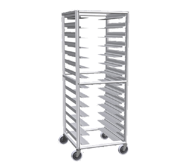 superior-equipment-supply - Lockwood Manufacturing - Lockwood Multi-Purpose Full Height Pan Rack Fourteen Pair Removable Universal Slides
