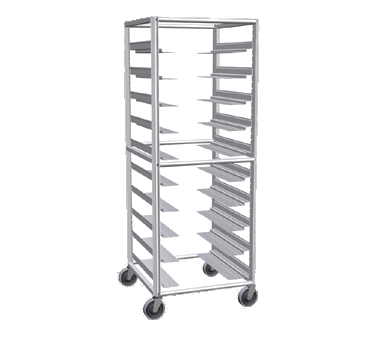superior-equipment-supply - Lockwood Manufacturing - Lockwood Multi-Purpose Full Height Pan Rack Ten Pair Removable Universal Slides