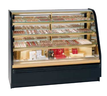 "superior-equipment-supply - Federal Industries - Federal industries Chocolate & Confectionery Climate Non-Refrigerated Case, 72""W x 24""D x 48""H, Choice of Laminate"