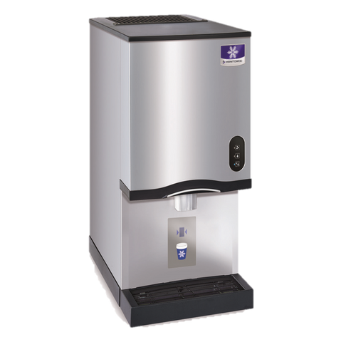 "Manitowoc Ice Maker & Water Dispenser, 16-1/2"" W x 24"" D x 35"" H, Counter Top, 315 LB Capacity"