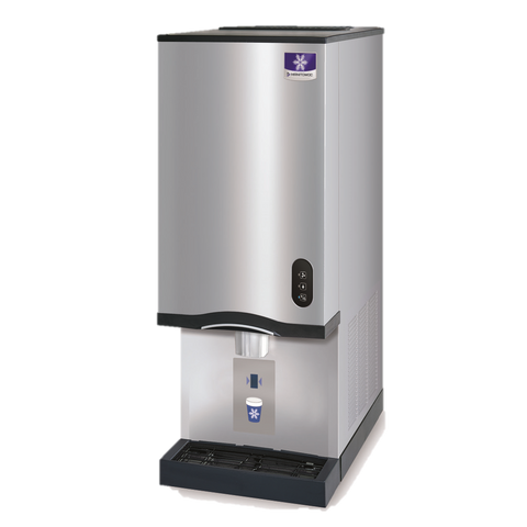 "Manitowoc Ice Maker & Water Dispenser, 16-1/2"" W x 24"" D x 42"" H, Counter Top, Nugget Style, 315 Lb/ 24 Hours"