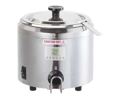 superior-equipment-supply - Server Products - Server Products, Food Topping Warmer, FS-2 Food Server, Stainless Steel Water-Bath Warmer/Cooker 1-1/2 Qt Stainless Steel Bowl