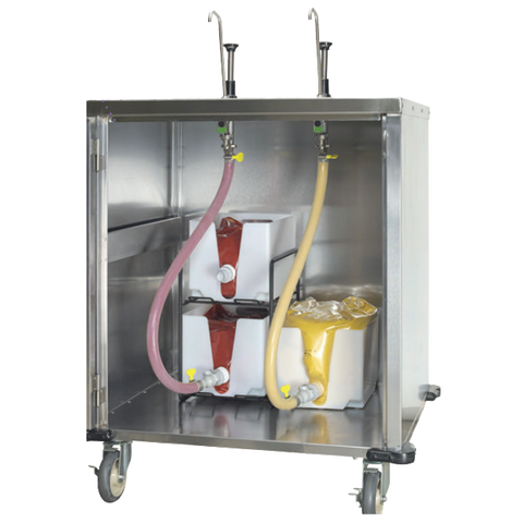 Server Products, Condiment Dispenser, CP-RP Remote Dispensing System, 1-1/2 Gallon Cryovac Pouch