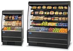 "Federal Industries Specialty Display High Profile Self-Serve Non-Refrigerated Merchandiser, 36""W x 35""D x 60""H, Choice of Laminate"
