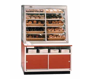 "superior-equipment-supply - Federal Industries - Federal Industries Specialty Display Non-Refrigerated Self-Serve Bakery Case, 42""W x 30""D x 62""H, Choice Of Laminate"