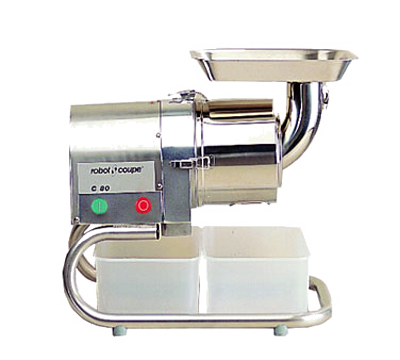 Robot Coupe, Automatic Pulp & Juice Extractor, Capacity 165 Lbs Per Hour, Stainless Steel Construction