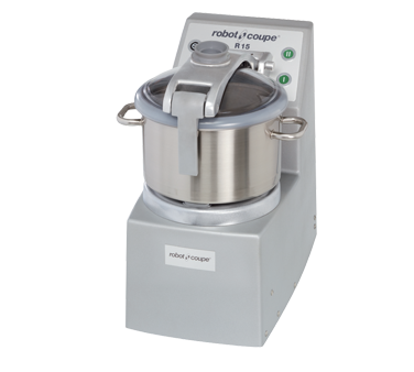 Robot Coupe Cutter/Mixer, Vertical,  15 Liter Stainless Steel Bowl