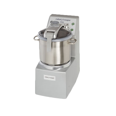 Robot Coupe Cutter/Mixer, Vertical, 20 Liter Stainless Steel Bowl With Handle
