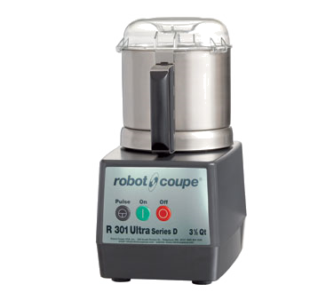 superior-equipment-supply - Robot Coupe - Robot Coupe D Series Cutter/Mixer, 3.7 Liter Stainless Steel Bowl With Handle & See-Thru Lid