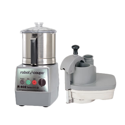 Robot Coupe Combination Food Processor, 4.5 Liter Stainless Steel Bowl With Handle