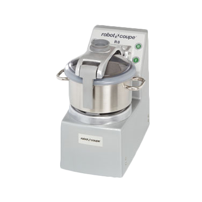 Robot Coupe Cutter/Mixer, Vertical, 8 Liter Stainless Steel Bowl With Handel & See-Thru Lid
