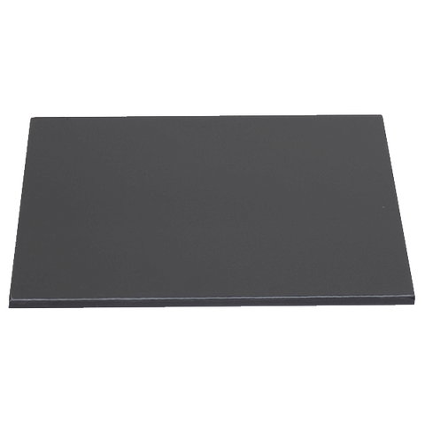 "Cadco CrisPlate™ Heat Plate, Full-Size, 26-1/4"" x 17-7/8"", Non-Stick Baking Surface, Dark Grey, Aluminized Steel"