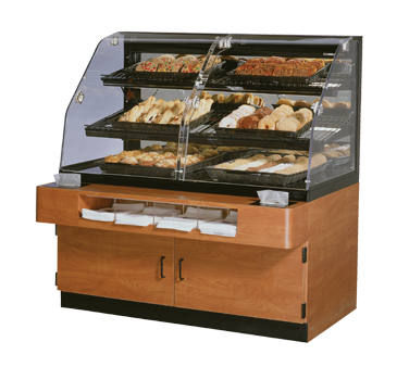 Clearance New Federal Industries Non-Refrigerated Specialty Self Serve Bakery Case
