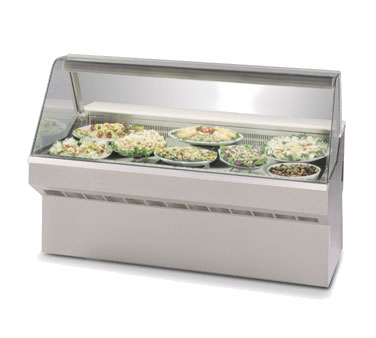 "Clearance Used Federal Industries Self Contained 96"" Wide Refrigerated Deli Case"