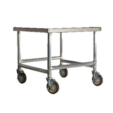"Amana Stainless Steel Top Cart 24"" Tall"