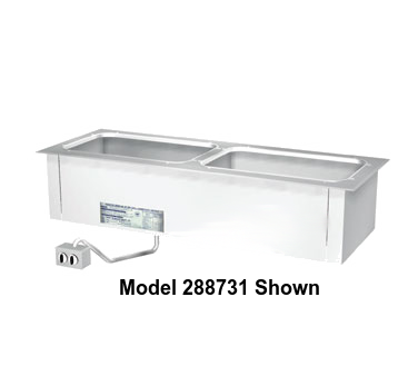 "Duke Slimline Food Well 68-1/4""W x 17.25""D x 12.75""H Stainless Steel Top Steel Exterior Housing With Remote Control Panel"