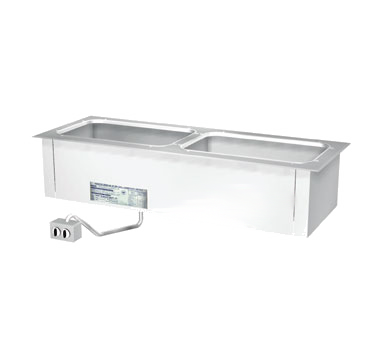 "Duke Slimline Food Well 46-1/4""W x 17.25""D x 12.75""H Stainless Steel Top Steel Exterior Housing With Remote Control Panel"
