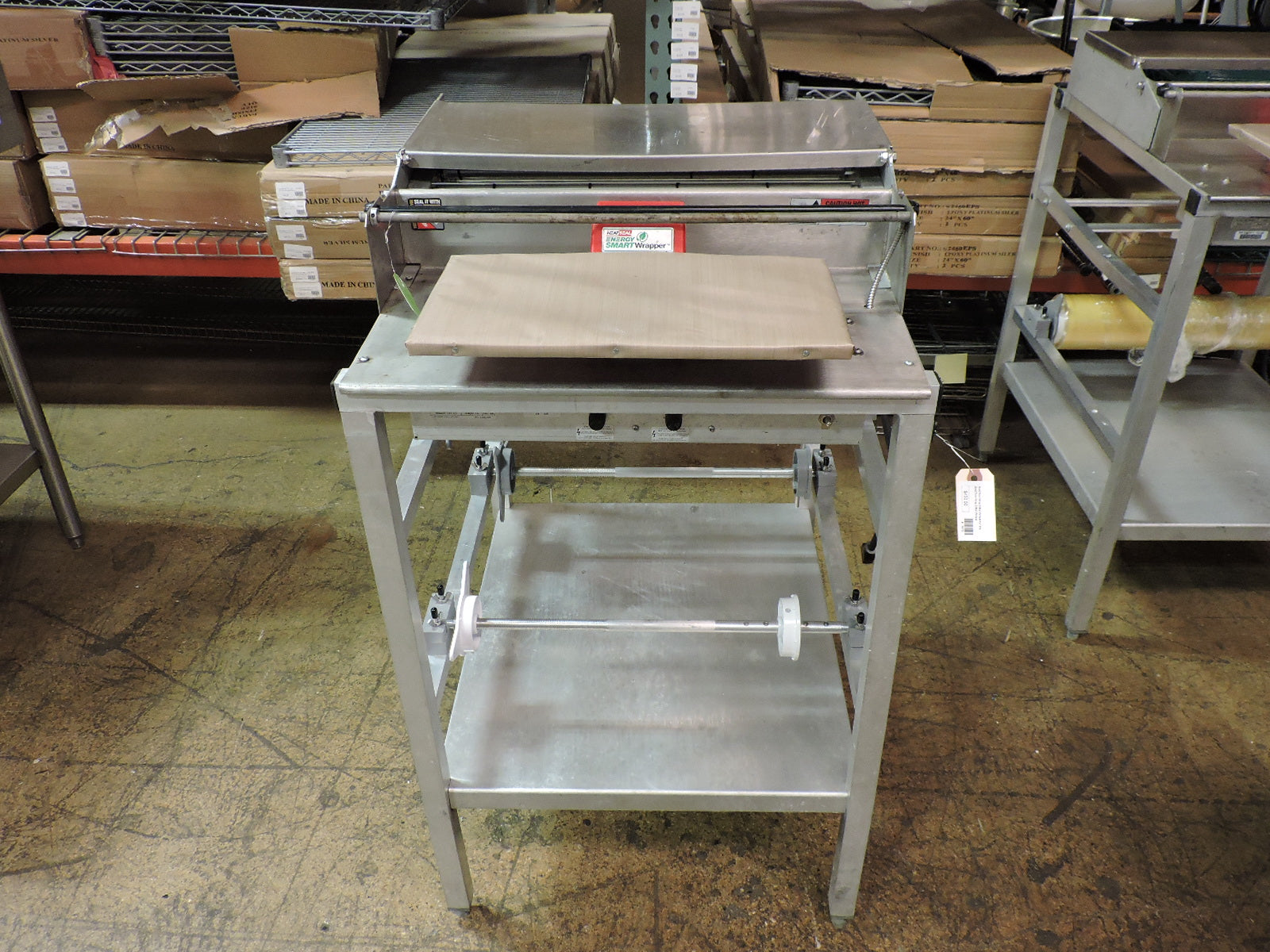 superior-equipment-supply - Heat Seal - Used Heat Seal Wrapper Floor Model  - Save Big!
