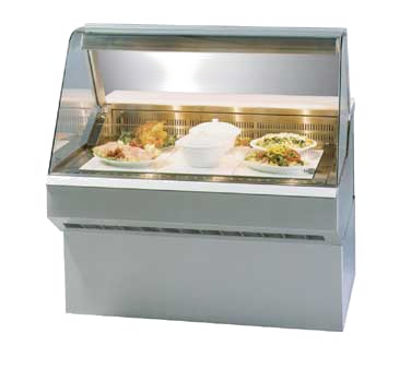 "Clearance Used Federal Industries 96"" Wide Hot Deli Case"