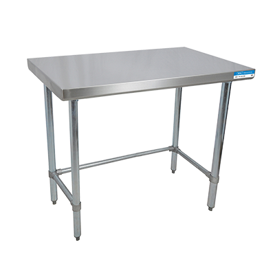 "superior-equipment-supply - BK Resources - BK Resources Stainless Steel Work Table 48""W x 18""D"