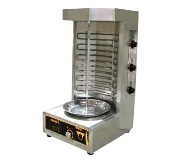 superior-equipment-supply - Omcan - Omcan Stainless Steel Electric Vertical Broiler 66 lb Capacity