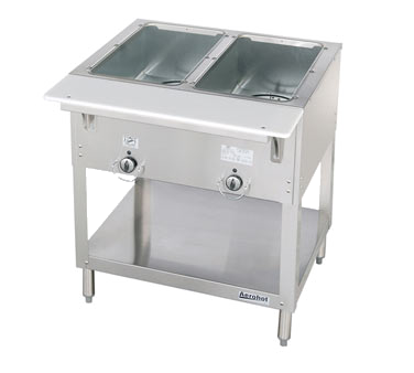 "Duke Aerohot™ Hot Food Station 30.38""W x 34""H x 22.44""D Stainless Steel With Carving Board"