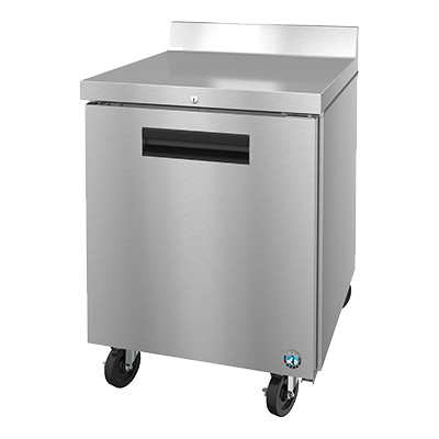 "superior-equipment-supply - Hoshizaki - Hoshizaki Stainless Steel 27"" Wide WorkTop Freezer With Cylinder Door Lock"