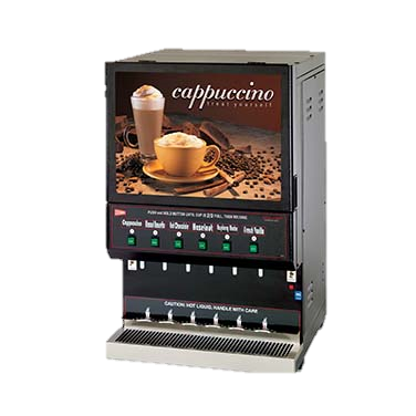 superior-equipment-supply - Grindmaster Cecilware - Grindmaster Cecilware Cappuccino Dispenser, Electric High Volume, (1) 10 Lbs Capacity Hopper & (5) 5 Lbs Capacity Hoppers