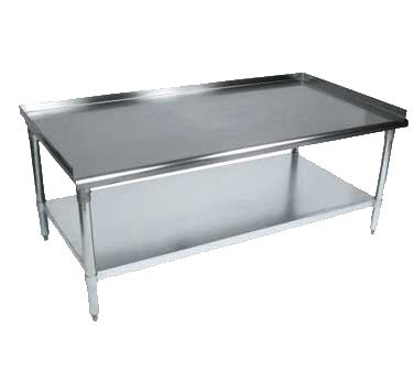 "BK Resources Equipment Stand 9""W x 30""D x 26""H, Stainless Steel"