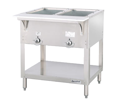 "Duke Aerohot™ Hot Food Station 34""H x 30.38""W x 22.44""D Stainless Steel With Carving Board"