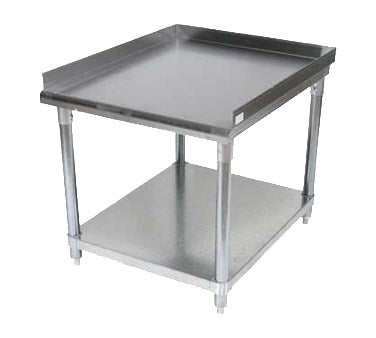 "BK Resources Equipment Stand 25""W x 30""D x 26""H, Stainless Steel"