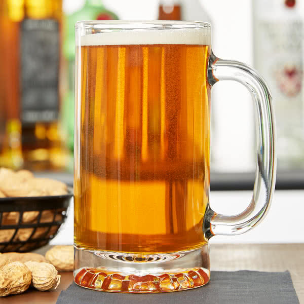 Libbey Beer Glass Mug 16 oz - 12/Case