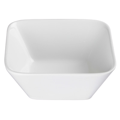 "Bowl 1 qt. Bright White Porcelain 6-3/4"" - 24 Bowls/Case"