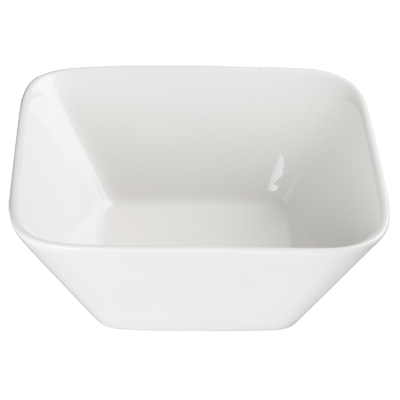 "Bowl 1-1/2 qt. Bright White Porcelain 7-5/8"" - 12 Bowls/Case"
